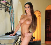 August Ames Moans To Penetrating Her Pussy 10