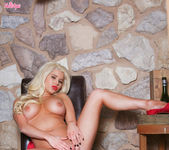 Spencer Scott Sticks Multiple Fingers Deep Inside Her Pink 10