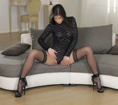 Caprice Moans To The Pleasure Of Stimulating Her Pussy 3