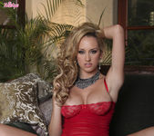 Brett Rossi Takes Her Lingerie Off And Teases Her Sexy Pussy 2