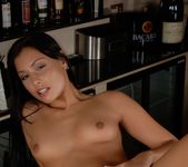 Anetta Keys pussy on the counter 15