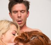 Veronica Avluv and Zoey Monroe in a FFM Anal Threesome 13