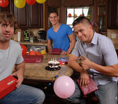 Angelina Valentine gets 2 guys for her BDay 2