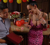 Angelina Valentine gets 2 guys for her BDay 19