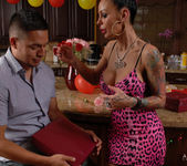 Angelina Valentine gets 2 guys for her BDay 20