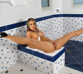 Aleksa - speculum pussy in the bathroom 7