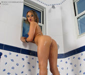 Aleksa - speculum pussy in the bathroom 15