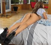 Anastasia - tall, leggy pornstar with her vibe 11