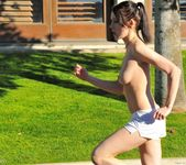 Aiden - tall thin teen naked outdoors 29