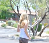 Alanna - blonde teen outdoors nudes 7