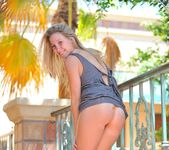 Alanna just loves getting naked outdoors 27
