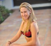 Alanna - nice teen blonde naked outdoors 19