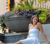 Amanda - teen having some naked fun 9