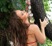 Maddy O'Reilly - Sheer Red in Outdoor Shower 2