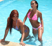Bask In The Sun - Ashley Bulgari & Angelica Kitten 2