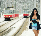 Snow Brake Disaster - Ashley Bulgari 9