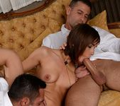 MMF Threesome with Tina Hot 12