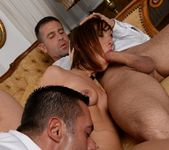 MMF Threesome with Tina Hot 15