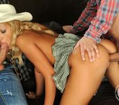 MMF Threesome with Chary Kiss 11