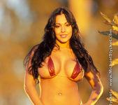 Nina Mercedez In her Red Bikini 2