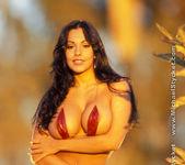 Nina Mercedez In her Red Bikini 5