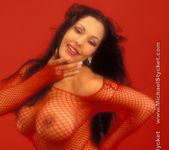 Nina Mercedez Hot in Red 14