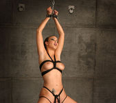 Sophia Santi is tied up and waiting for you to Punish her 17