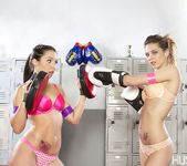 Bailey Blue & Anastasia Morna - Girl Fights 17
