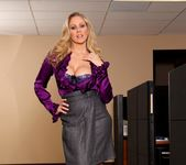 Julia Ann - Busty Office MILFs 4 7