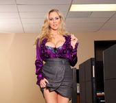 Julia Ann - Busty Office MILFs 4 8