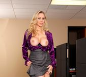 Julia Ann - Busty Office MILFs 4 9