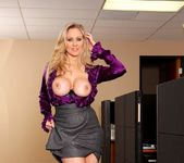 Julia Ann - Busty Office MILFs 4 10