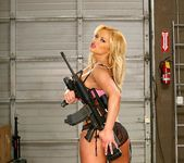 Shyla Stylez - Men In Uniform Love Big Tits 8