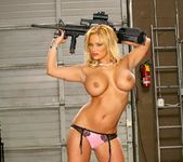 Shyla Stylez - Men In Uniform Love Big Tits 13