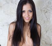 Janessa Brazil - See through panties and baby oil 10