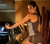 Janessa Brazil - Hot Brazilian Working Out in Spandex 2