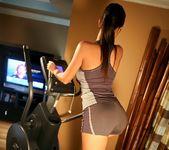 Janessa Brazil - Hot Brazilian Working Out in Spandex 4