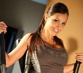 Janessa Brazil - Hot Brazilian Working Out in Spandex 5