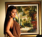 Janessa Brazil - Hot Babe wearing Tight Shiny Mini Skirt 7