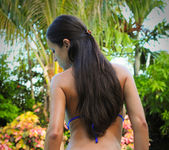 Janessa Brazil - Brazilian Slut Pool Side Dildo Fuck 5