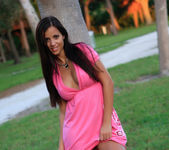 Janessa Brazil - Amateur Girl getting Naked at Sunset 3