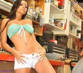 Janessa Brazil - Striping Naked at my Friends Workshop 6