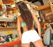 Janessa Brazil - Striping Naked at my Friends Workshop 9