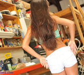 Janessa Brazil - Striping Naked at my Friends Workshop 10