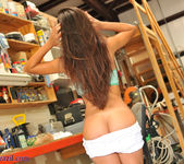 Janessa Brazil - Striping Naked at my Friends Workshop 11