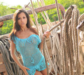 Janessa Brazil - Naughty Nautical Public Nudity on a Boat 2