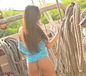 Janessa Brazil - Naughty Nautical Public Nudity on a Boat 11
