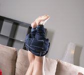 Autumn Riley - Jeans & Black Shirt 3