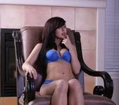 Autumn Riley - Blue Lingerie 4