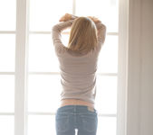 Cassidy Cole - Window In Jeans 2